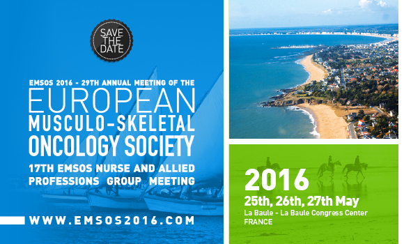 29th annual meeting EUROPEAN MUSCULO SKELETAL ONCOLOGY ...
